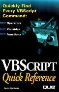 Vbscript Quick Reference
