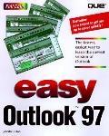 Easy Microsoft Outlook 97 - Jennifer Fulton - Paperback