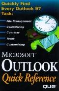 Microsoft Outlook 97 Quick Reference (Que Quick Reference Series)