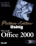 Using Microsoft Office 2000: Platinum Edition - Laura Stewart - Hardcover - Platinum Edition