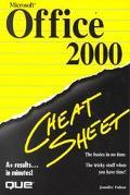 Microsoft Office 2000 Cheat Sheet