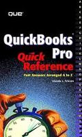 International Quickbook's Pro Quick Reference