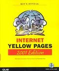 Que's Official Internet Yellow Pages with Cdrom: 2001 Edition