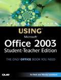 Using Microsoft Office 2003 Student-teacher