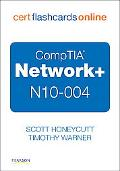 CompTIA Network+ N10-004 Cert Flash Cards Online: Retail Packaged Version
