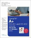 CompTIA A+ 220-801 and 220-802 Authorized Cert Guide and Simulator Library