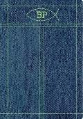 Biblia de promesas azul jeans c/cierre