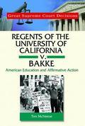 Regents of California V. Bakke