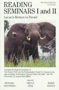 Reading Seminars I and II Lacan's Return to Freud
