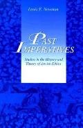 Past Imperatives Studies in the History and Theory of Jewish Ethics