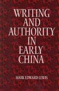 Writing and Authority in Early China