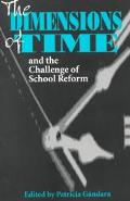 Dimensions of Time and the Challenge of School Reform
