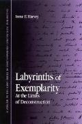 Labyrinths of Exemplarity At the Limits of Deconstruction