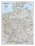 Germany Laminated Wall Map
