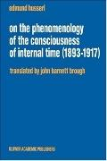 On the Phenomenology of the Consciousness of Internal Time