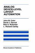 Analog Device-Level Layout Automation