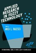 Applied Research in Fuzzy Technology Three Years of Research at the Laboratory for Internati...