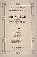 Messiah An Oratorio Complete Vocal Score