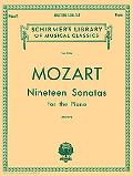 Wolfgang Amadeus Mozart Nineteen Sonatas For the Piano