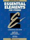 Essential Elements for Strings Double Bass