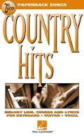 Country Hits Melody Line, Chords and Lyrics for Keyboard, Guitar Vocal