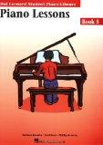 Piano Lessons Book 5: Hal Leonard Student Piano Library