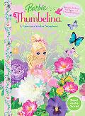 Barbie Thumbelina Panorama Sticker Book