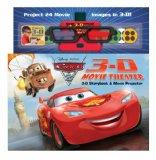 Disney Pixar Cars 2 3-D Movie Theater: Storybook & Movie Projector