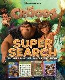 Dreamworks The Croods Super Search: Picture Puzzles, Mazes and More