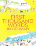 Mini First Thousand Words German Internet Linked