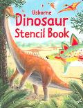Usborne Dinosaur Stencil Book