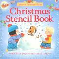 Christmas Stencil Book