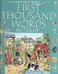 First Thousand Words in Polish - Internet Linked