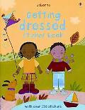 Getting Dressed Sticker Book (Usborne Sticker Books)
