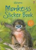 Monkeys (Usborne Sticker Books)
