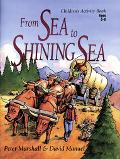 From Sea to Shining Sea Children's Activity Bookages 5-8