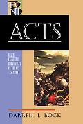 Acts (Baker Exegetical Commentary on the New Testament)