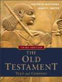The Old Testament: Text and Context