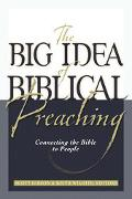 Big Idea of Biblical Preaching