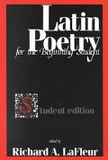 Latin Poetry for the Beginning Student