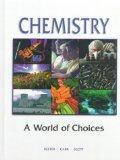 Chemistry : A World of Choice