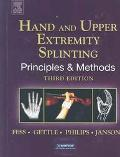 Hand Splinting Principles and Methods