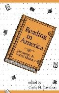 Reading in America Literature & Social History