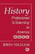 History Professional Scholarship in America