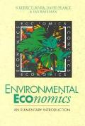 Environmental Economics An Elementary Introduction