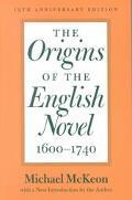 Origins of the English Novel, 1600-1740