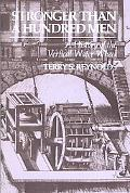 Stronger Than a Hundred Men A History of the Vertical Water Wheel