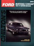 Chilton's Ford Mustang/Cougar 1964-73 Repair Manual 1964-73 Repair Manual