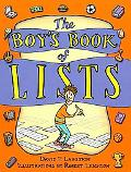 Boy's Book of Lists