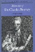 Memoirs of Dr. Charles Burney, 1726-1769